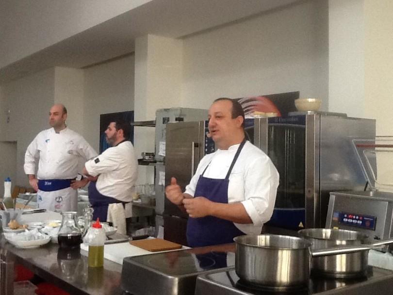 Catania report cento chef al corso di aggiornamento dell associazione cuochi etnei - Corso cucina catania ...
