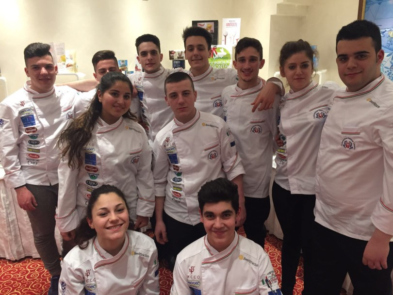 Il team dei Cuochi Etnei vince conquista Rimini